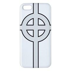 Celtic Cross  iPhone 5S/ SE Premium Hardshell Case
