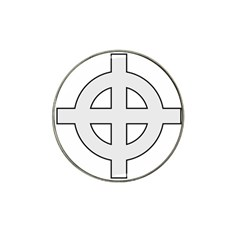 Celtic Cross  Hat Clip Ball Marker