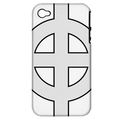 Celtic Cross  Apple iPhone 4/4S Hardshell Case (PC+Silicone)