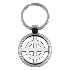 Celtic Cross  Key Chains (Round)