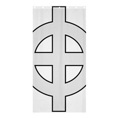 Celtic Cross  Shower Curtain 36  x 72  (Stall)