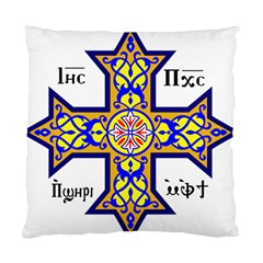 Coptic Cross Standard Cushion Case (Two Sides)