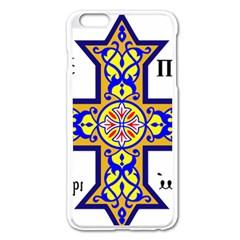 Coptic Cross Apple iPhone 6 Plus/6S Plus Enamel White Case