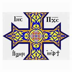 Coptic Cross Large Glasses Cloth (2-Side)