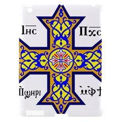 Coptic Cross Apple iPad 3/4 Hardshell Case (Compatible with Smart Cover)