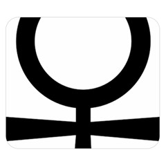 Coptic Ankh  Double Sided Flano Blanket (Small)
