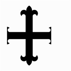 Cross Fleury  Small Garden Flag (Two Sides)