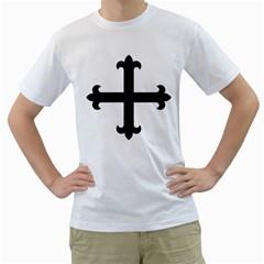 Cross Fleury Men s T-Shirt (White)
