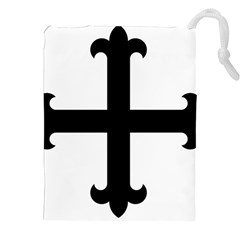 Cross Fleury Drawstring Pouches (XXL)