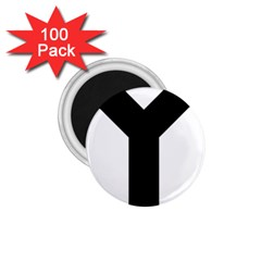 Forked Cross 1.75  Magnets (100 pack)