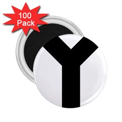 Forked Cross 2.25  Magnets (100 pack)