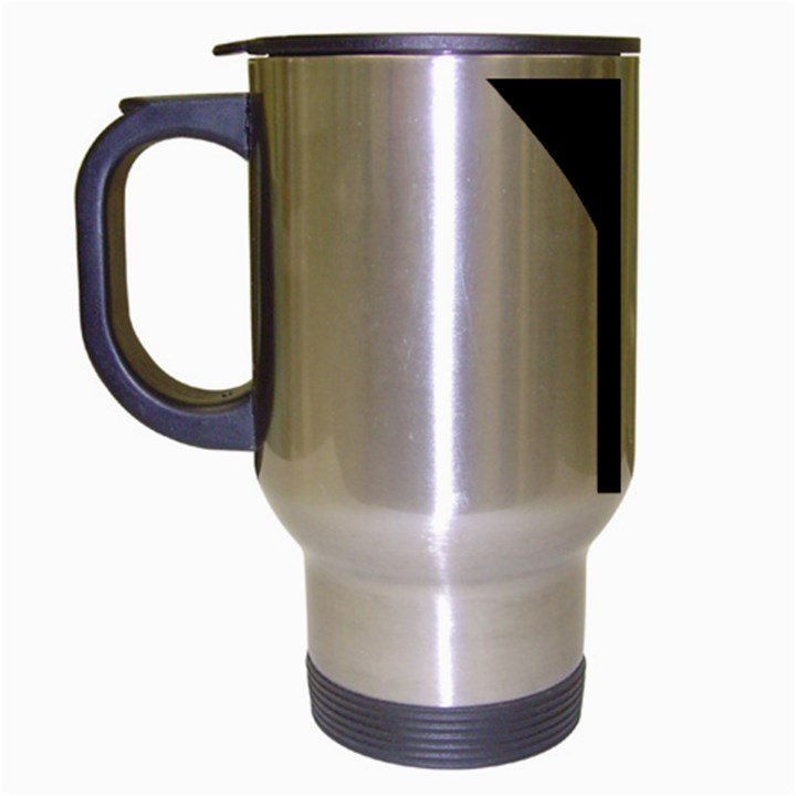 Forked Cross Travel Mug (Silver Gray)