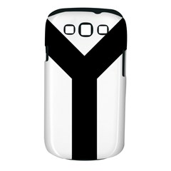 Forked Cross Samsung Galaxy S III Classic Hardshell Case (PC+Silicone)