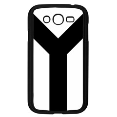 Forked Cross Samsung Galaxy Grand DUOS I9082 Case (Black)