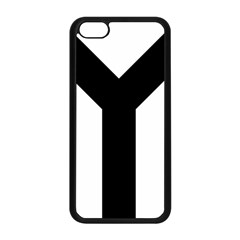 Forked Cross Apple iPhone 5C Seamless Case (Black)