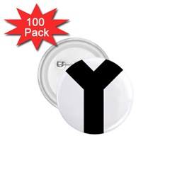 Forked Cross 1.75  Buttons (100 pack)