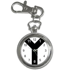 Forked Cross Key Chain Watches