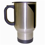 Forked Cross Travel Mug (Silver Gray) Left