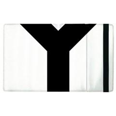 Forked Cross Apple iPad 2 Flip Case
