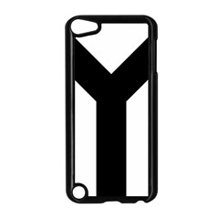 Forked Cross Apple iPod Touch 5 Case (Black)
