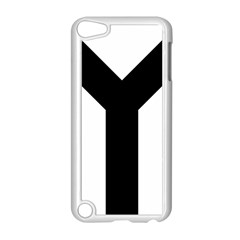 Forked Cross Apple iPod Touch 5 Case (White)