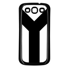 Forked Cross Samsung Galaxy S3 Back Case (Black)