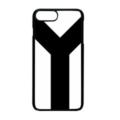Forked Cross Apple iPhone 7 Plus Seamless Case (Black)
