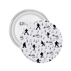 Elvis Presley pattern 2.25  Buttons