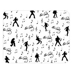 Elvis Presley pattern Double Sided Flano Blanket (Large)