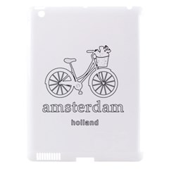 Amsterdam Apple iPad 3/4 Hardshell Case (Compatible with Smart Cover)