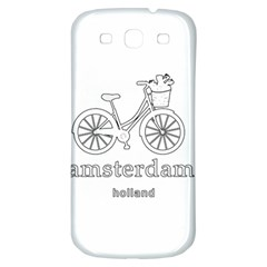 Amsterdam Samsung Galaxy S3 S III Classic Hardshell Back Case