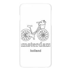 Amsterdam Apple Seamless iPhone 6 Plus/6S Plus Case (Transparent)
