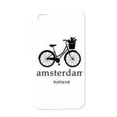 Amsterdam Apple iPhone 4 Case (White)