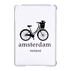 Amsterdam Apple iPad Mini Hardshell Case (Compatible with Smart Cover)