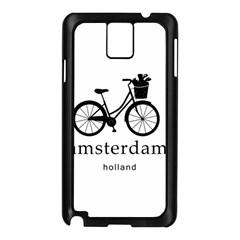 Amsterdam Samsung Galaxy Note 3 N9005 Case (Black)