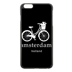 Amsterdam Apple iPhone 6 Plus/6S Plus Black Enamel Case