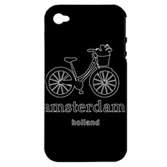 Amsterdam Apple iPhone 4/4S Hardshell Case (PC+Silicone)