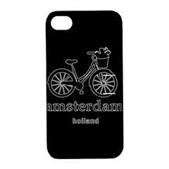 Amsterdam Apple iPhone 4/4S Hardshell Case with Stand
