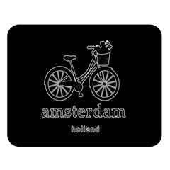 Amsterdam Double Sided Flano Blanket (Large)