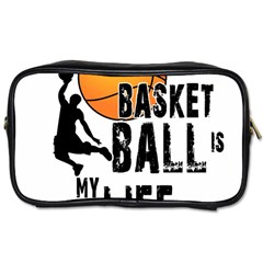 Basketball Is My Life Toiletries Bags