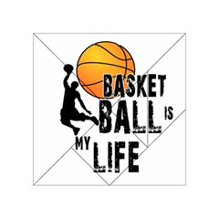 Basketball is my life Acrylic Tangram Puzzle (4  x 4 )