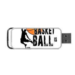 Basketball is my life Portable USB Flash (Two Sides)