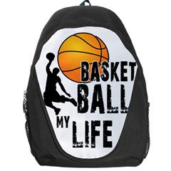 Basketball is my life Backpack Bag