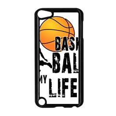 Basketball is my life Apple iPod Touch 5 Case (Black)