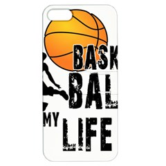 Basketball is my life Apple iPhone 5 Hardshell Case with Stand