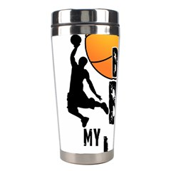 Basketball is my life Stainless Steel Travel Tumblers