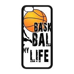 Basketball is my life Apple iPhone 5C Seamless Case (Black)