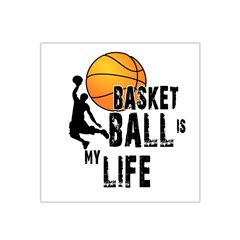 Basketball is my life Satin Bandana Scarf