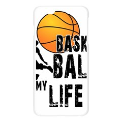 Basketball is my life Apple Seamless iPhone 6 Plus/6S Plus Case (Transparent)