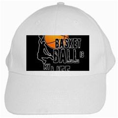 Basketball is my life White Cap